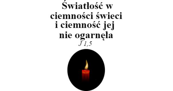 Kubek Cytat Biblijny światłość W Ciemności świeci Kubki W